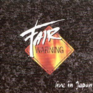 Fair warning - 1993 - Live in Japan
